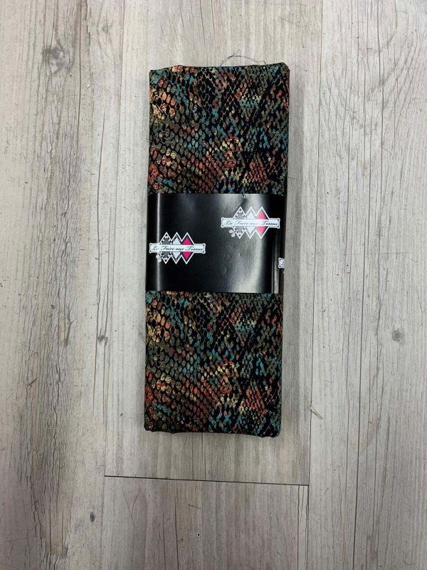 Tissu coton écaille